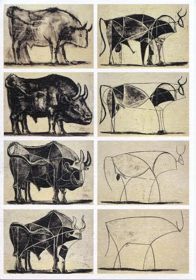 Étude sur le taureau, Pablo Picasso